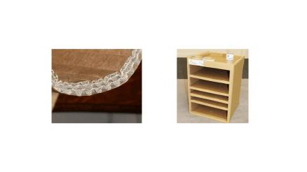Du carton recyclé pour faire des meubles