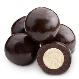 Triple Dipped Dark Chocolate Malted Milk Balls