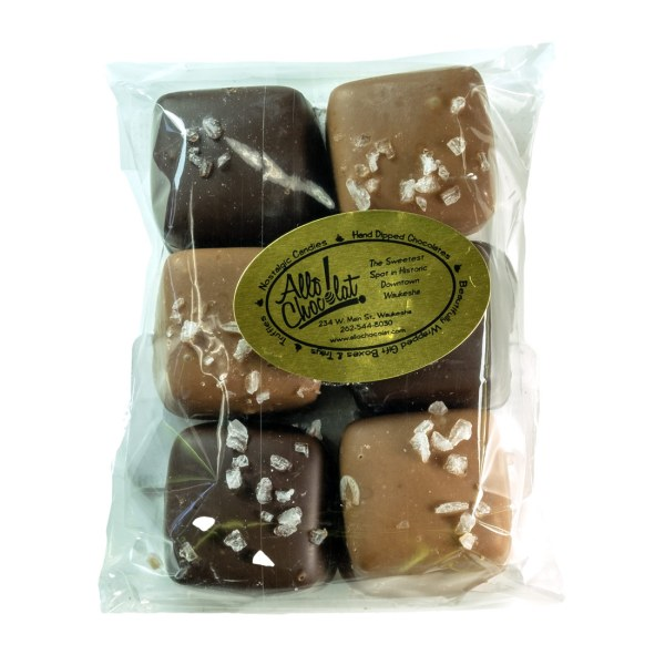 Chocolate-Covered Caramels