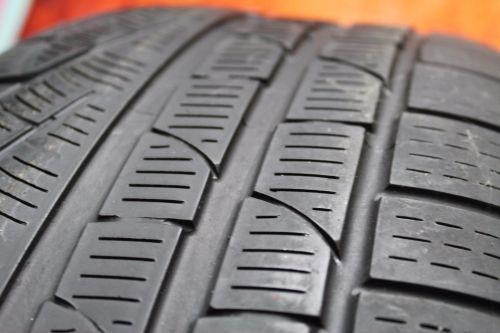 TWO-Used-24550R18-2455018-Pirelli-SottoZero-Passenger-Tires-Pair-4010-RFT-272636186553-4-1.jpg