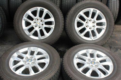 Set-of-4-Chevrolet-Traverse-18-2018-OEM-Rims-Wheels-5843-25565R18-111T-273491912139