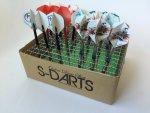 S-DARTS エスダーツ 段ボール ダーツスタンド