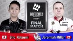 Sho Katsumi Jeremiah Millar THE WORLD 2015 STAGE 4 CANADA FINAL