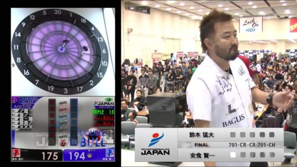 JAPAN2015 STAGE14 広島 JAPAN 決勝戦 鈴木猛大 安食賢一