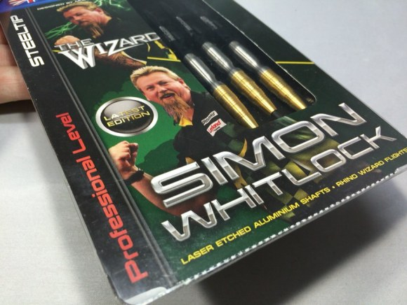 Winmau Simon Whitlock Steel Tip The Wizard Golden 22g ウィンモー サイモン・ウィットロック スティール ザ・ウィザード ゴールデン