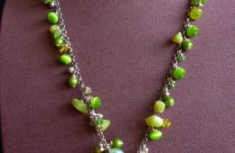 Sautoir Vert