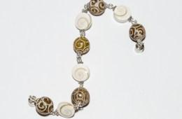 Bracelet Sainte-Lucie et Agate du Tibet