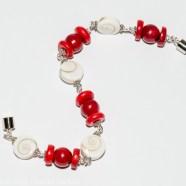 Bracelet Sainte-Lucie et Corail Bambou