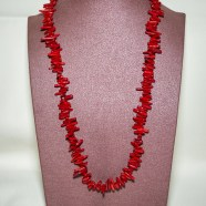 Collier Corail Bambou MM
