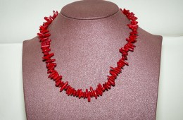 Collier Corail Bambou PM