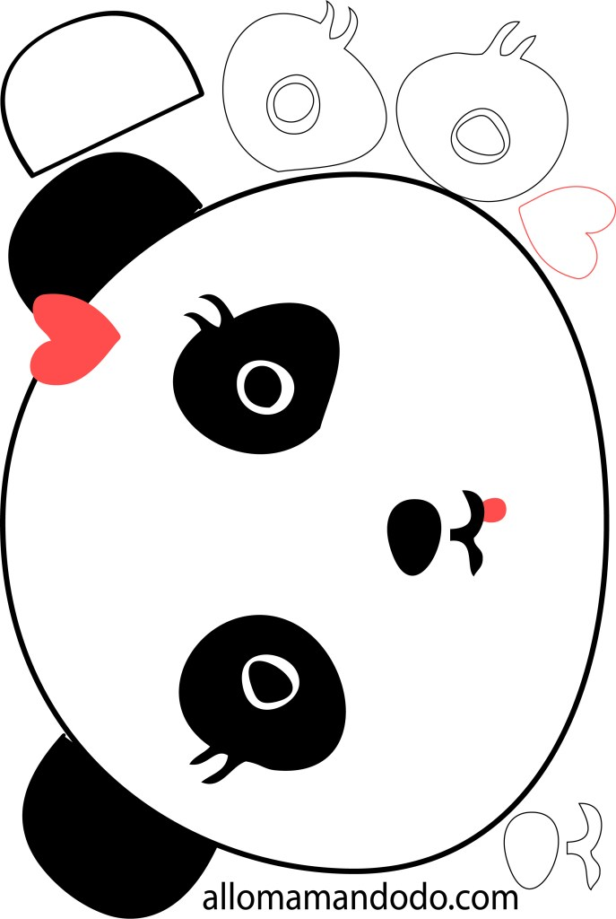 panda gateau
