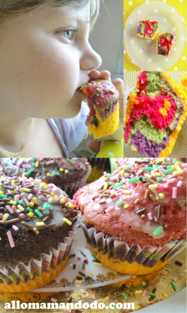 cupcake arc-en-ciel 6