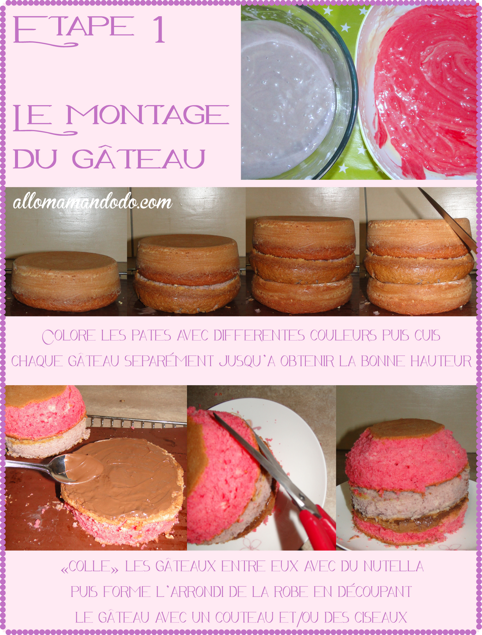 gateau princesse 1
