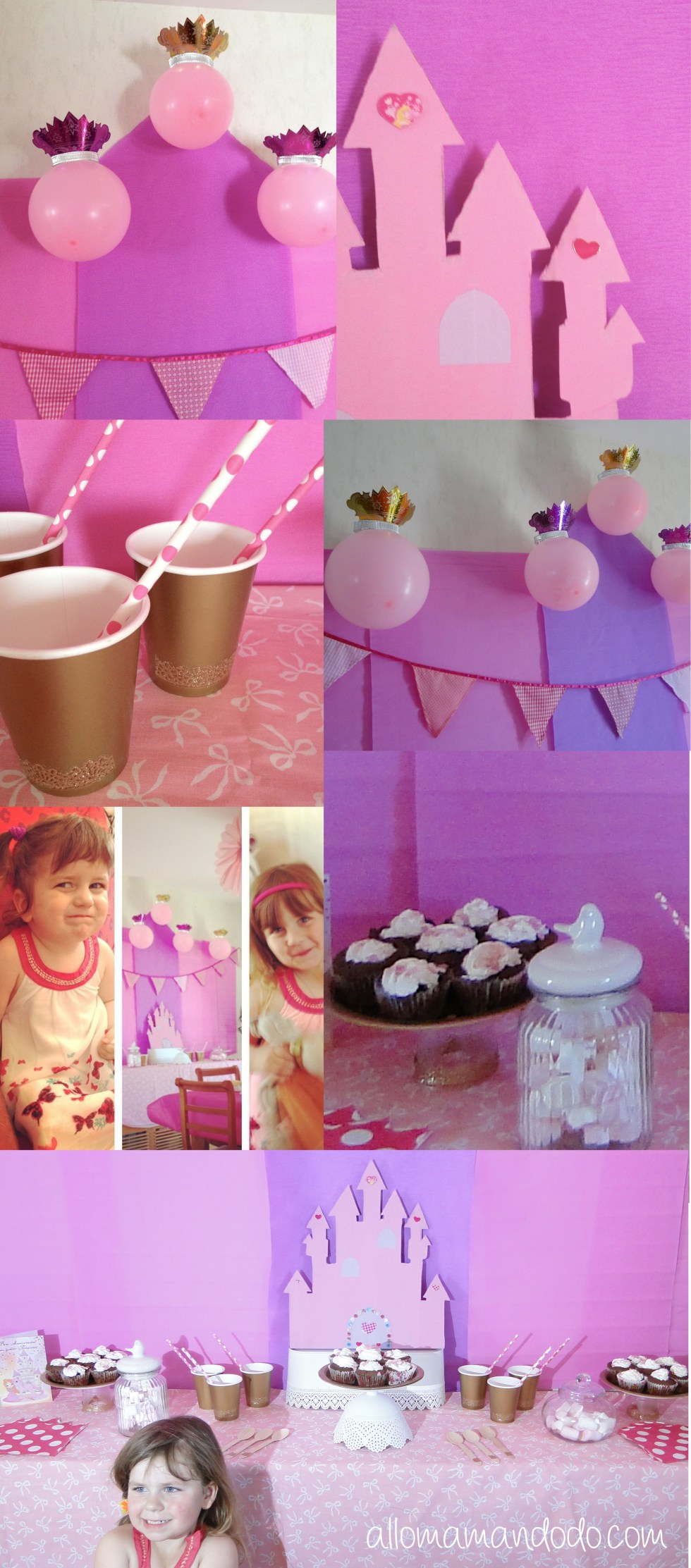 sweet table anniversaire princesse 1