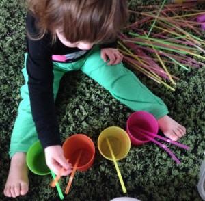 montessori apprendre couleurs