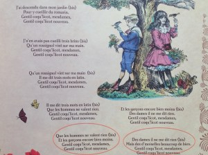 gentil coquelicot paroles