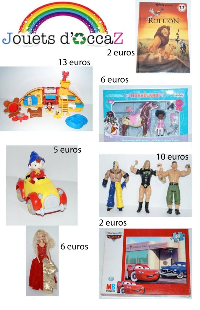 jouets d'occaz