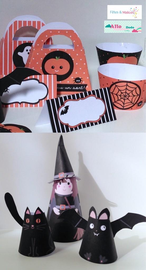 sorcière en papier