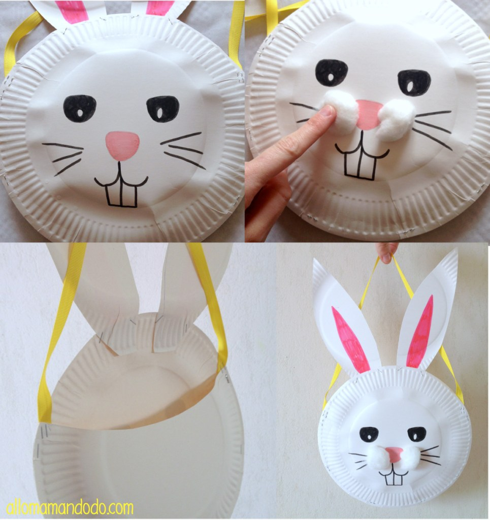 petit panier lapin paques
