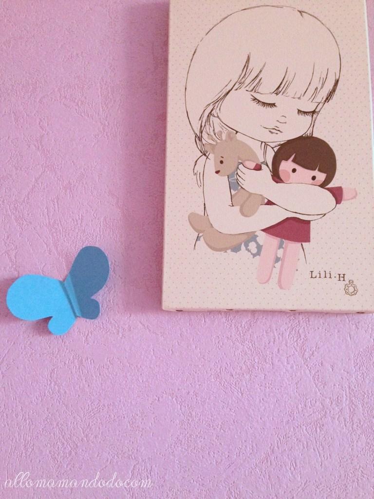 papillon mur