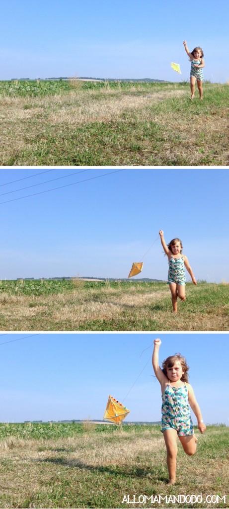 DIY tuto cerf-volant enfant