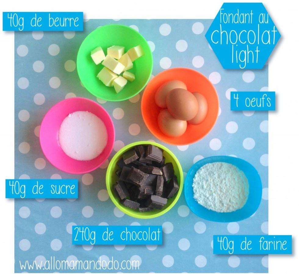 fondant chocolat ingredients