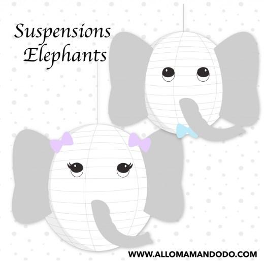 boule chinoise DIY elephant