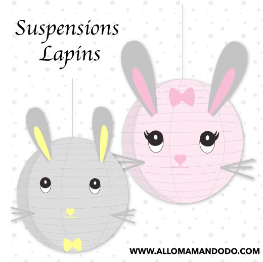 suspension DIY lapin