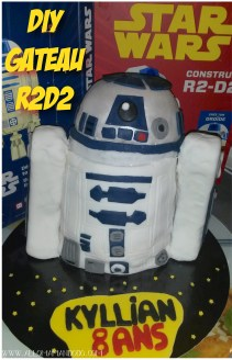 tutoriel photo gâteau r2d2