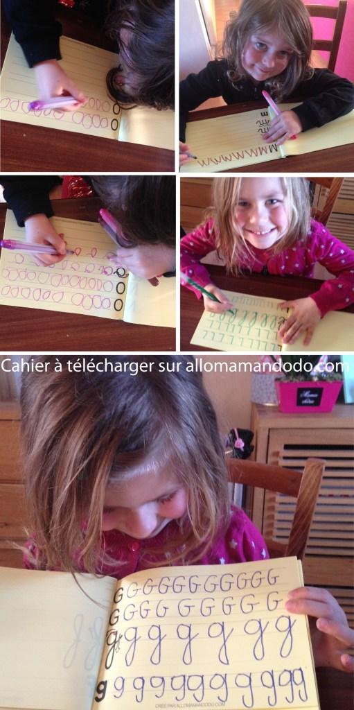 alphabet lettres maternelle écrire