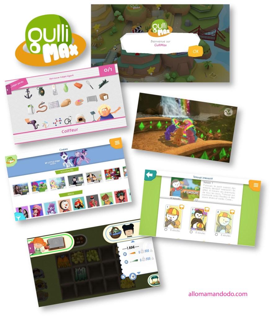 gullimax jeux