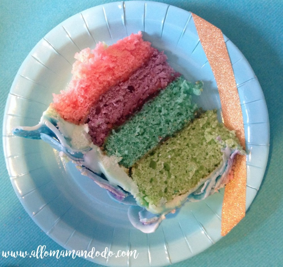rainbow cake sirene