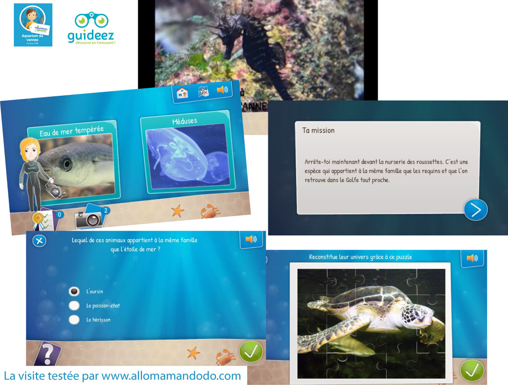 Des Visites Funs Avec Lappli Guideez Aquarium Et Jardin