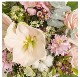 fleurs noel bouquet