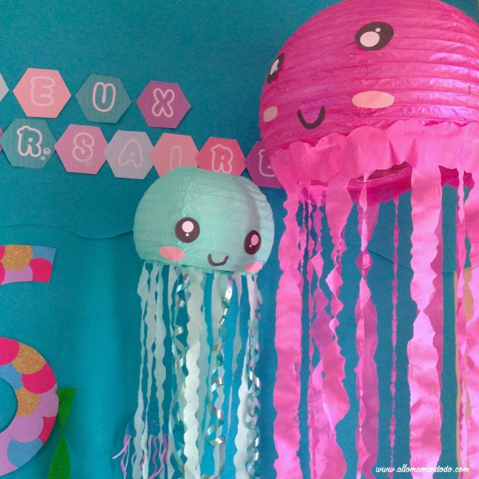 sirene mermaid meduses deco