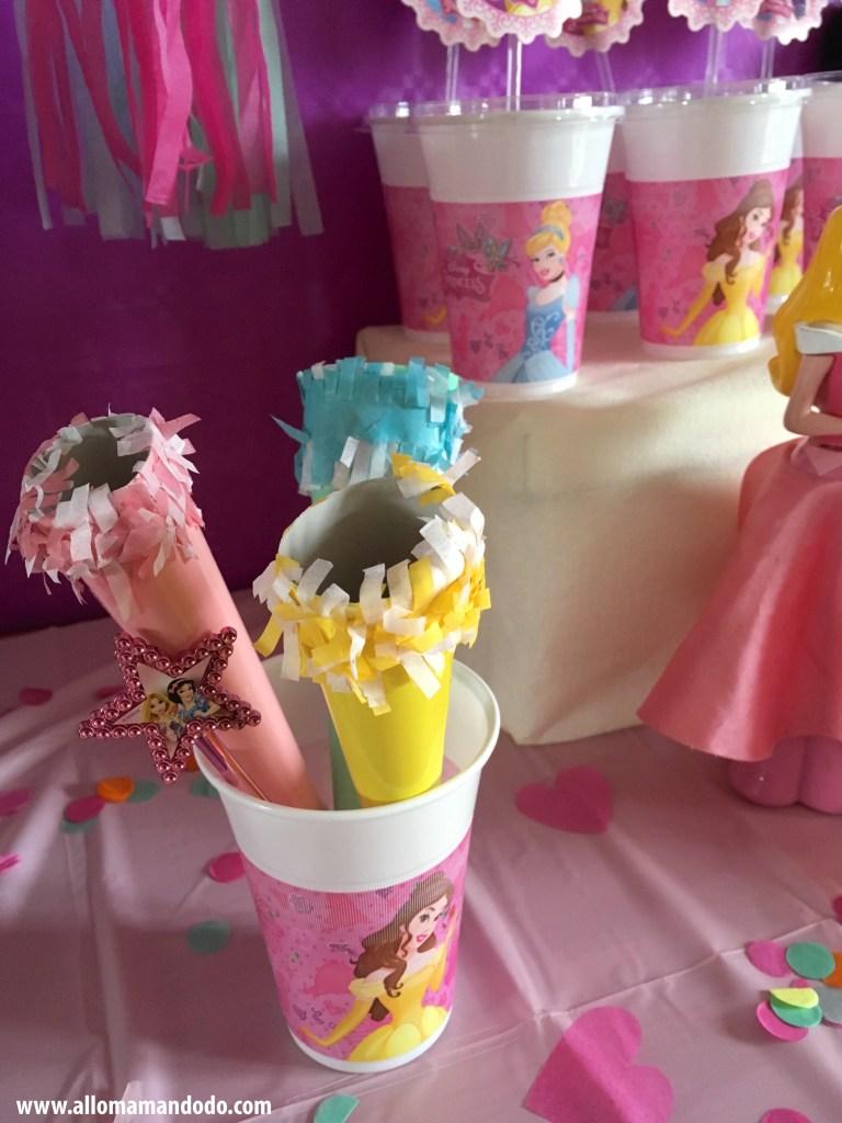 deco anniversaire princesses