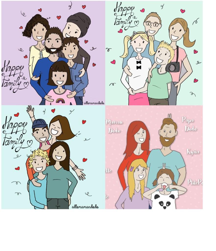 happy family allomamandodo