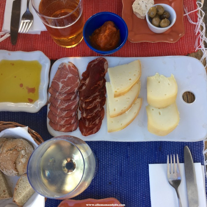 porto abritel homeaway charcuterie fromage