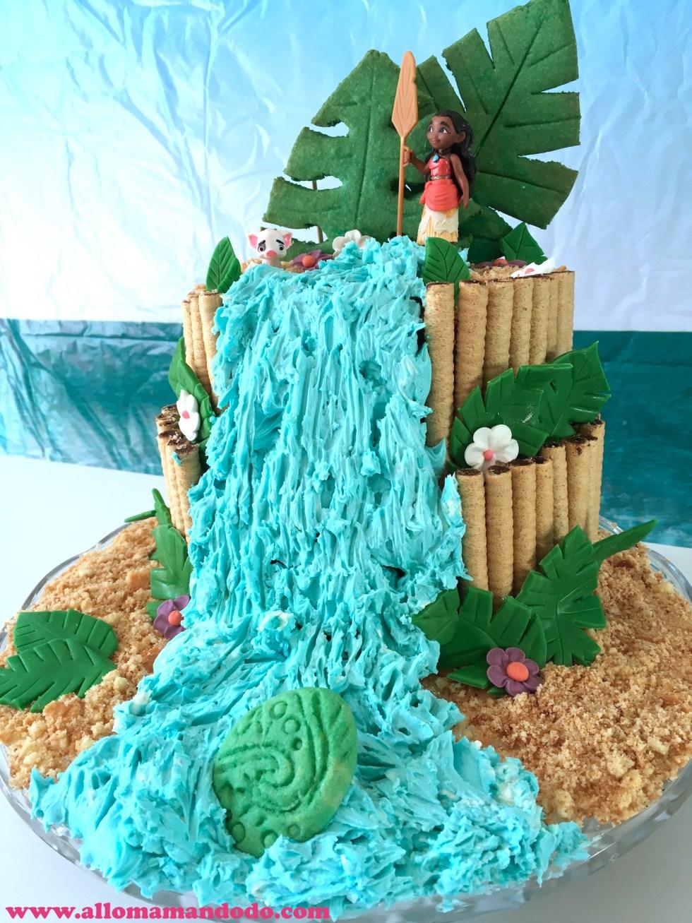 cake moana gateau vaiana