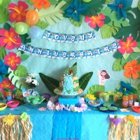 Anniversaire Vaiana: Déco, sweet table et activités faciles pour un anniversaire des îles!