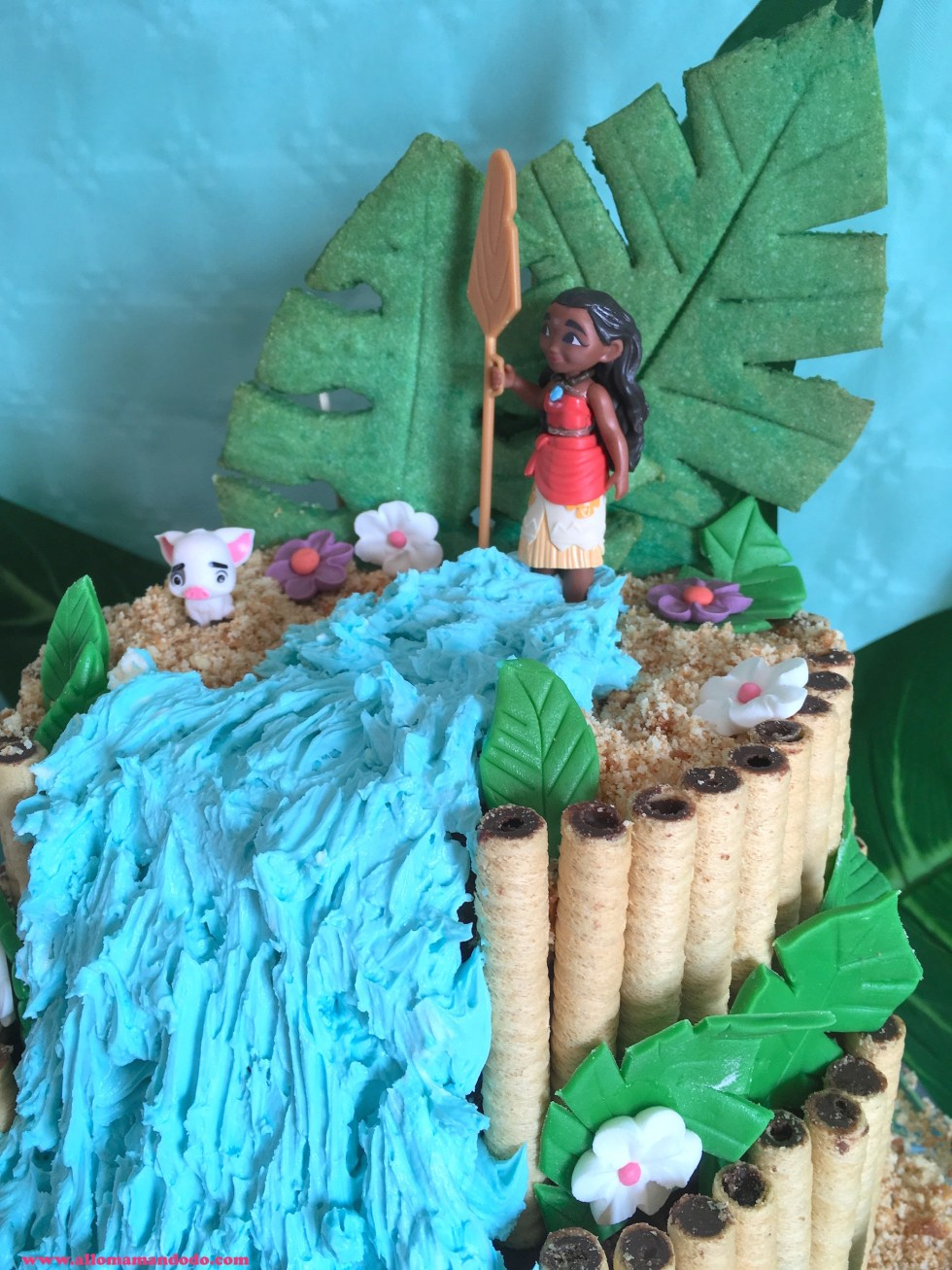 moana cake anniversaire vaiana