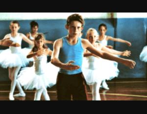 fille garcn aime danse