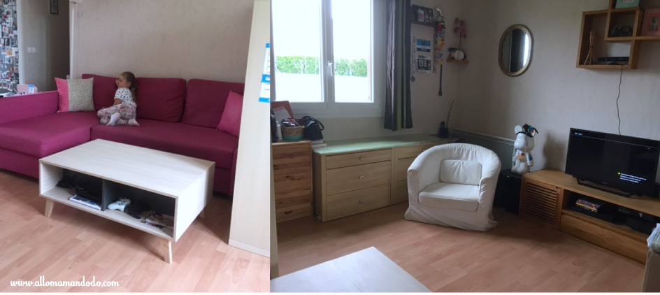 maison minimaliste salon