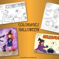 Coloriages Gratuits pour Halloween!
