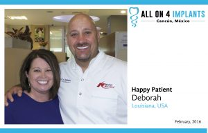 All on 4: Happy Patient Deborah!