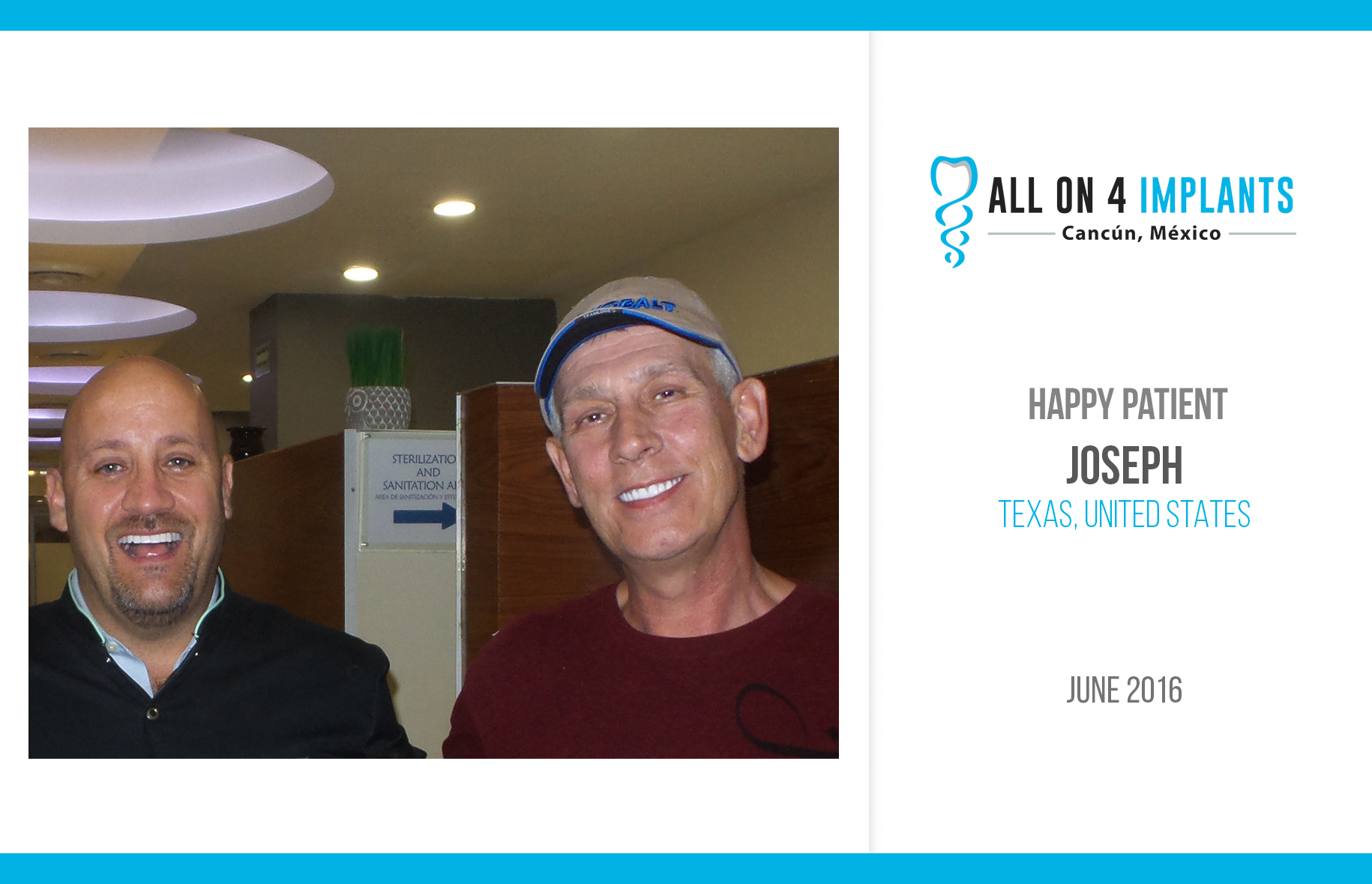 All-on-4 Happy Patient: Joseph!