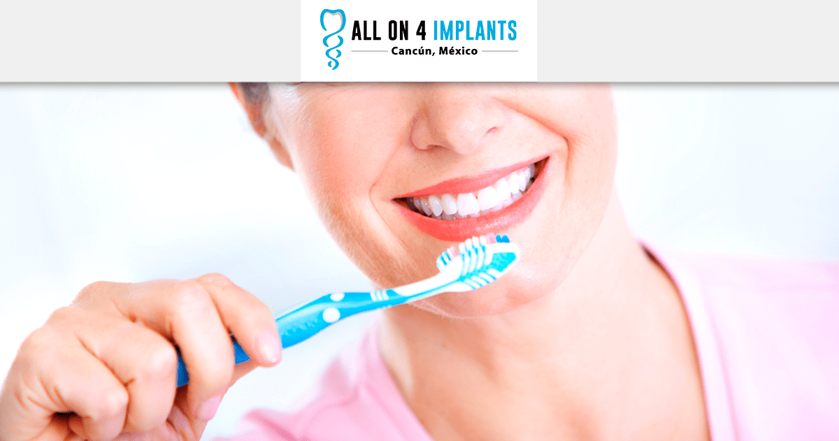 all-on-4 dental implants in cancun cleaning