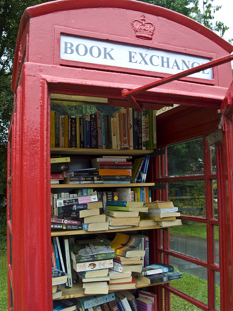 From village eyesore, to village book store