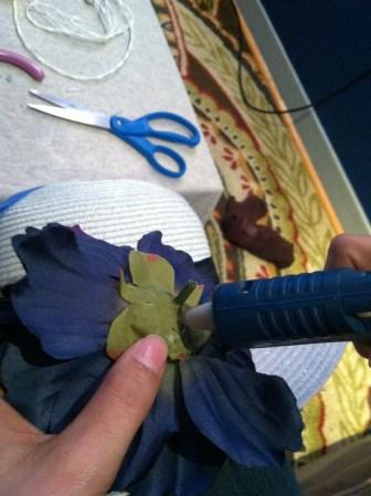 First flower