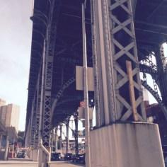 Under the bridge downtown